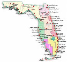 map of florida state parks map of fl beaches beaches canoeing state parks