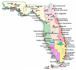 florida beaches map florida guide