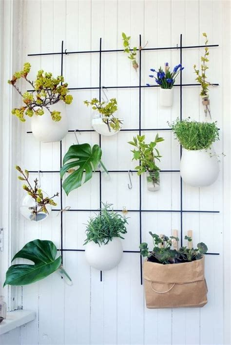 macetas para interiores ideas originales para decorar interiores con plantas