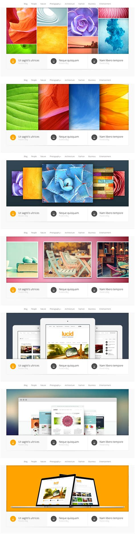 free templates with slider eight awesome web slider templates psd psd