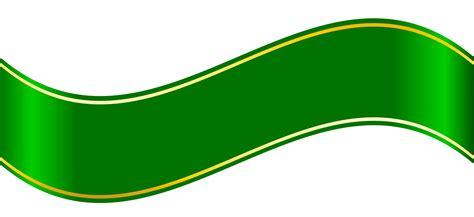 design banner green hd banner clipart green design