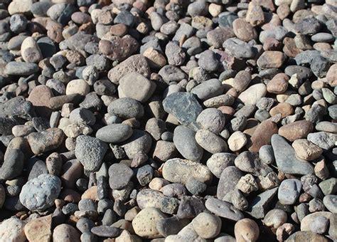 grey landscape rock 3 4 quot grey river rock ontario rock landscape