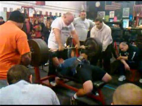 500 pound bench ryan cidzik 500 lb bench youtube