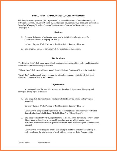 non disclosure and non compete agreement template 4 non disclosure and non compete agreement purchase