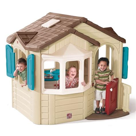naturally playful welcome home playhouse playhouse