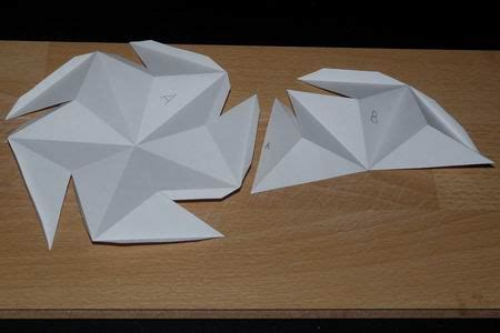 Origami Diagrams Compound Of Dodecahedron And Great - bouwplaat grote dodeca 235 der
