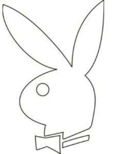 playboy bunny coloring pages playboy bunny template i know i know not appropriate