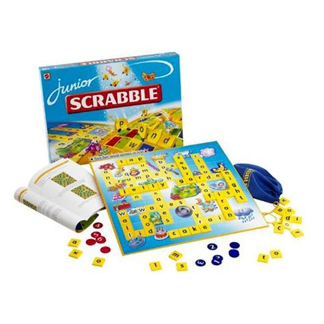 how to play scrabble junior scrabble junior board 6 to 8 753879