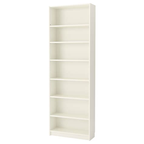 Billy Bookcase White 80x237x28 Cm Ikea Ikea Bookcase White