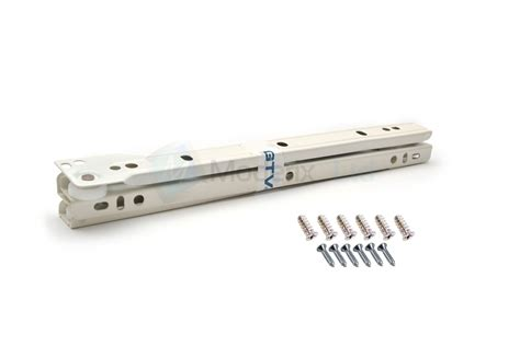 Roller Drawer Runners by Set Roller Drawer Runners Metal White Kitchen All Sizes