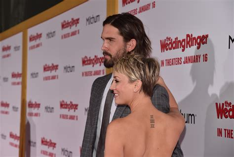 big bang tattoo big theory kaley cuoco covers wedding date