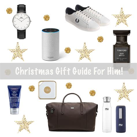 christmas gift guide for him 2017 claire baker