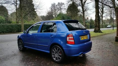 skoda fabia vrs limited edition 2007 skoda fabia vrs limited edition 502 in dunmurry