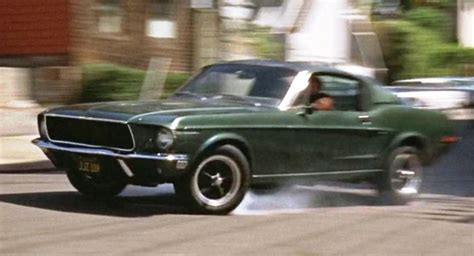 ford mustang driven by steve mcqueen in bullitt allegedly