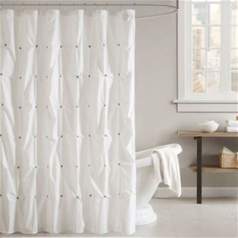 grey and white shower curtains buy grey shower curtain from bed bath beyond