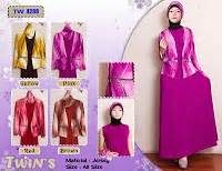 Kalila Maxy Bahan Katun Dress Cantik Murah Simple safirah toko fashion store