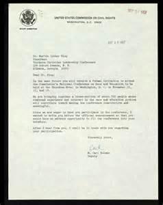 formal invitation letter format for event letter from m carl holman to mlk regarding event