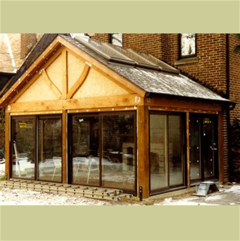 Livingroom Window Treatments timber frame addition