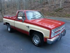 sell used 1985 chevy silverado c10 bed v8 automatic