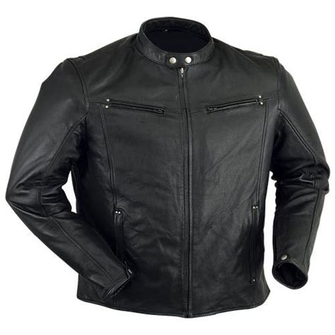 Lightweight Premium Leather Motorcycle Jacket Leather