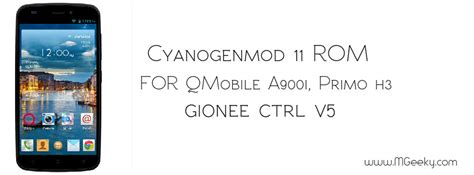 qmobile original themes cyanogenmod 11 rom for qmobile a900i primo h3 and gionee