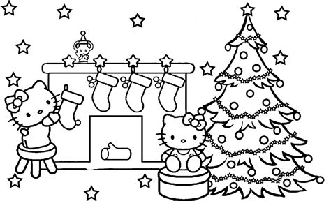 Christmas Coloring Pages To Print Free Picture For Colouring For