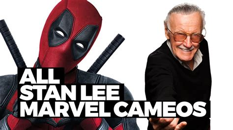 marvel films without stan lee every stan lee marvel movie cameo in 90 seconds youtube