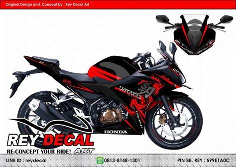 Honda Cbr 150 Merah Surabaya harga cutting sticker cbr 150 r kamos sticker