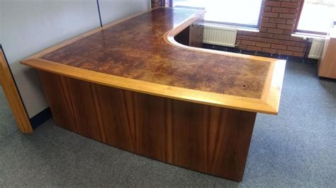 Large Corner Desks Antique Large Corner Desk Oak In Glenfield Leicestershire Gumtree
