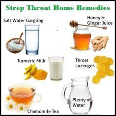 strep throat remedies on strep throat