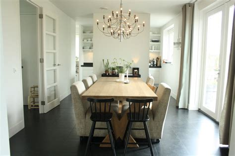 Houzz Dining Room Contemporary My Houzz Sophisticated Family Home Breathes Scandinavian