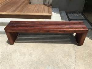 slate bench tops modern slat top outdoor wood bench do it yourself home