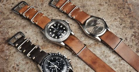 Jam Tangan Original 1238msrh Inlove 100percent Rolex Leather Nato
