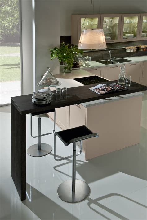 kitchen one legged table contemporary breakfast bar