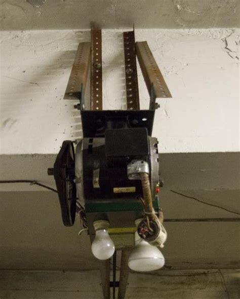 garage door adjustment do it yourself need help with some garage door opener questions