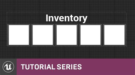 construct 2 inventory tutorial umg ui inventory menu layout 04 v4 8 tutorial series