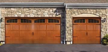 Steel garage door model 8300 and 8500