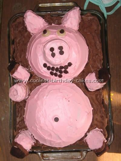 Pig Anniversary Cakeq coolest diy birthday cake ideas especially for pig