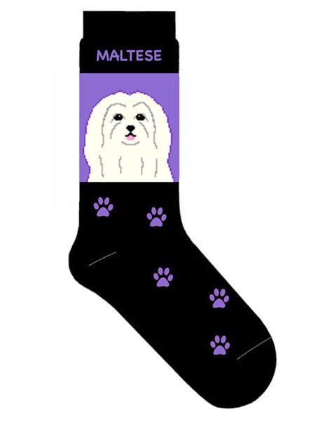 maltese socks lightweight cotton crew stretch