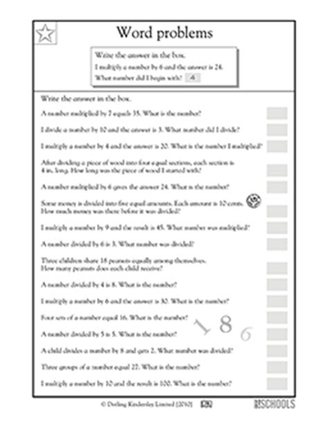 printable math riddles worksheets 3rd grade math worksheets number riddles greatschools