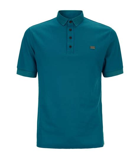 Burberry Polo Size M burberry laverton polo shirt in teal for lyst