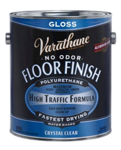 varathane 174 clear gloss water based floor finish