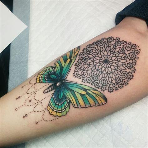 mandala butterfly tattoo animals with butterfly and mandala