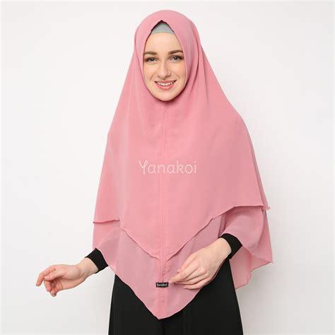 Jilbab Ceruti Tanpa Pet