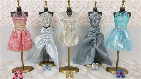 Queen Elsa Anna Barbie Dress & Clothes????????? ????Barbie Elsa boneca vestido e roupas   YouTube