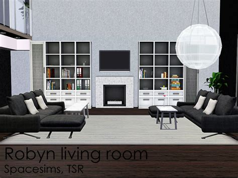 Spacesims Robyn Living Room Sims 3 Living Room Sets