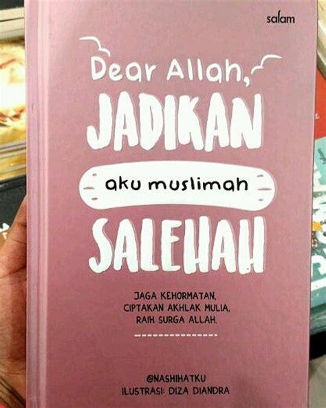 Buku Dear jual buku dear allah jadikan aku muslimah salehah di lapak