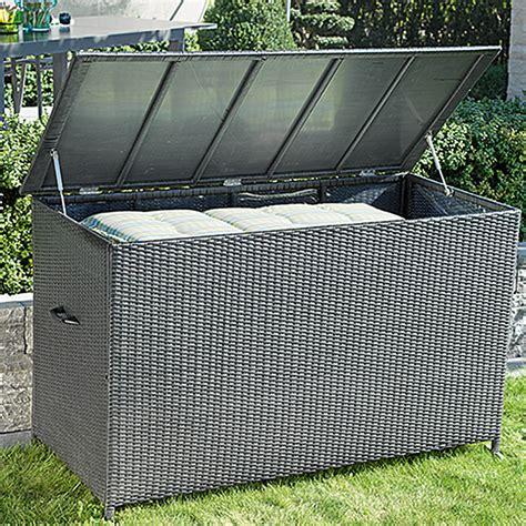 garten aufbewahrungsbox sunfun neila garten aufbewahrungsbox silbergrau 160