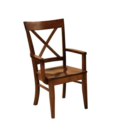 Handmade Furniture Usa - f n amish chairs arm chair wood seat amish furniture