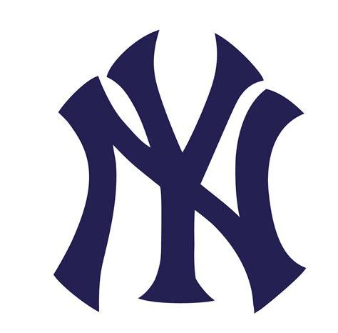 new york yankees l new york yankees logo outline www imgkid com the image